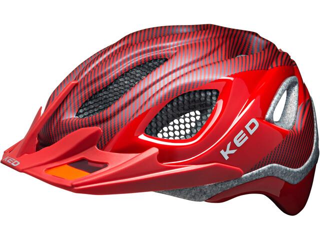 KED Certus Pro Helmet Red Glossy Matt